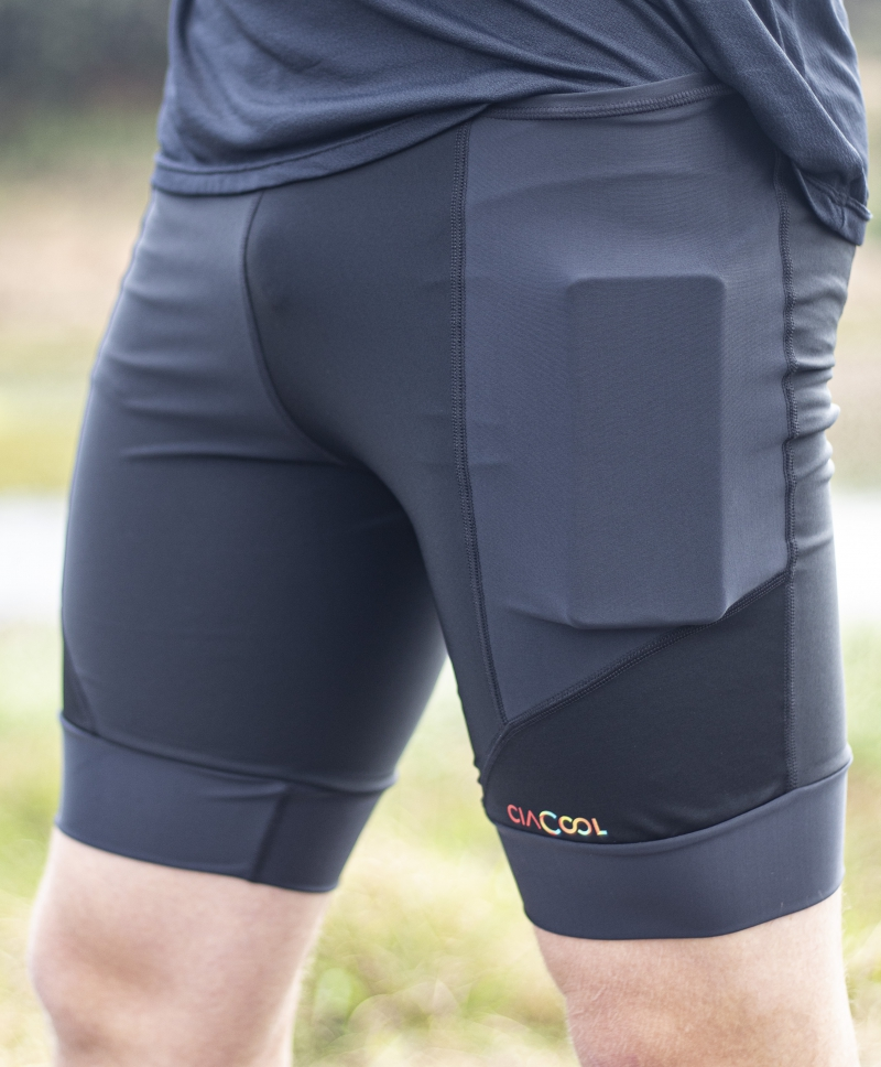 Coolshorts Masculino Power Run Preto